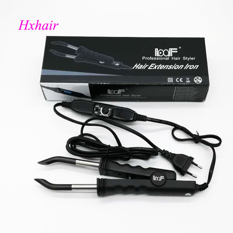 № 2 Отрегулируйте темп наращивание волос Соединитель/наращивание волос Fusion Iron/волосы Fusion соединитель