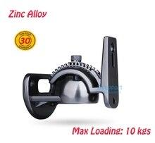 (1 par) Dsupport 2016 nova Carga 10 kg £ universal liga de zinco som SPEAKER suporte DE montagem em PAREDE GU8T