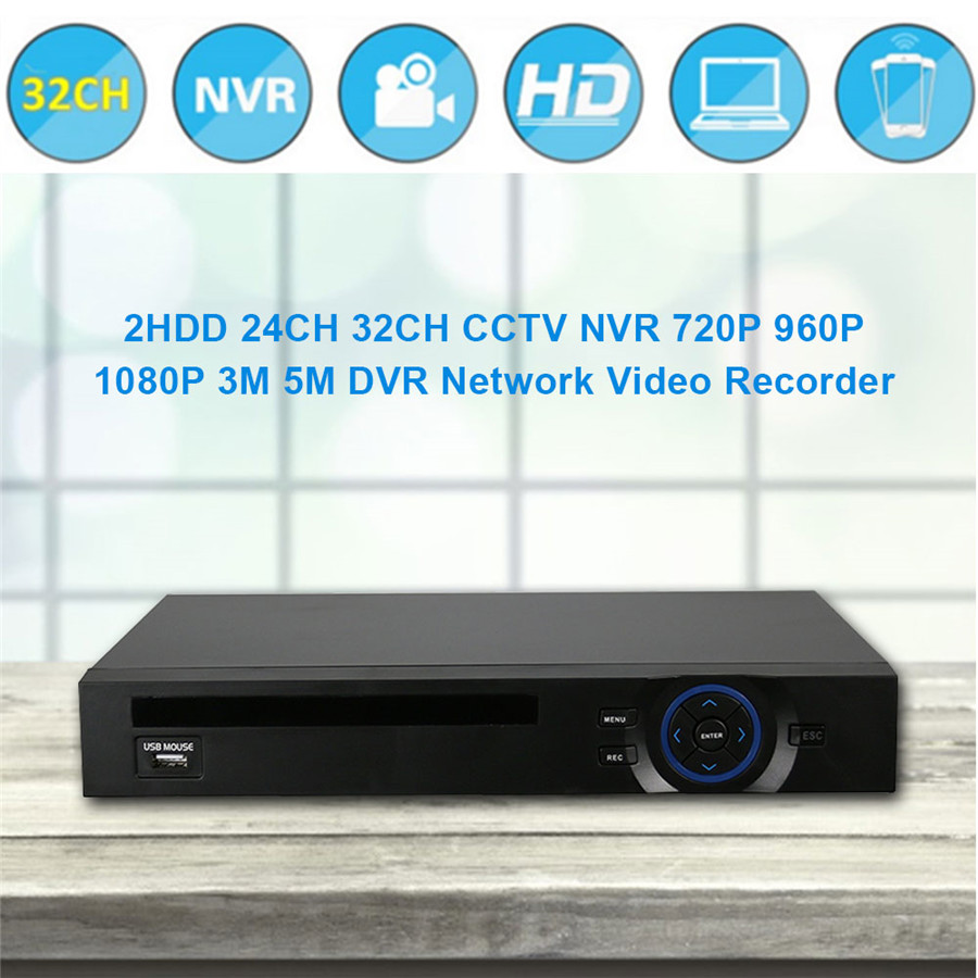 Hiseeu CCTV NVR 1080P 5M Network DVR Video Recorder 32CH NVR H.264 P2P Onvif 2.0 for IP Camera XMEYE Cloud Nvr Dropshipping 44 hiseeu 8ch 960p dvr video recorder for ahd camera analog camera ip camera p2p nvr cctv system dvr h 264 vga hdmi dropshipping 43