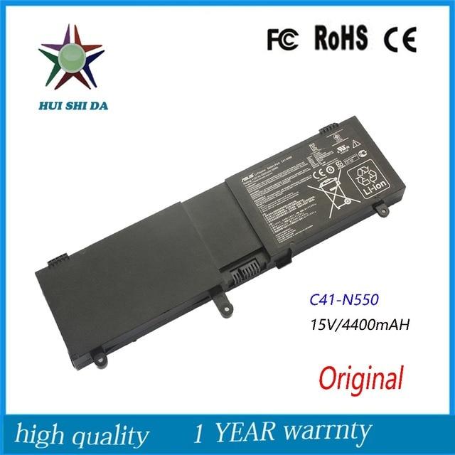 Оригинал 15 В 59Wh Новый Аккумулятор для Ноутбука ASUS N550JK N550J N550X47JV-SL C41-N550