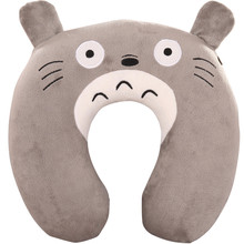 Cartoon cute animal U Pillow nap Cervical vertebra U-shaped pillow watch TV Travel