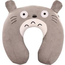 Cartoon cute animal U Pillow nap Cervical vertebra U-shaped pillow watch TV Travel Pillow цена 2017