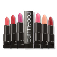 FOCALLURE Moisturizer Smooth Lipstick Long Lasting Charming Lip Lipstick Cosmetic Beauty Makeup Sexy Color Red Color