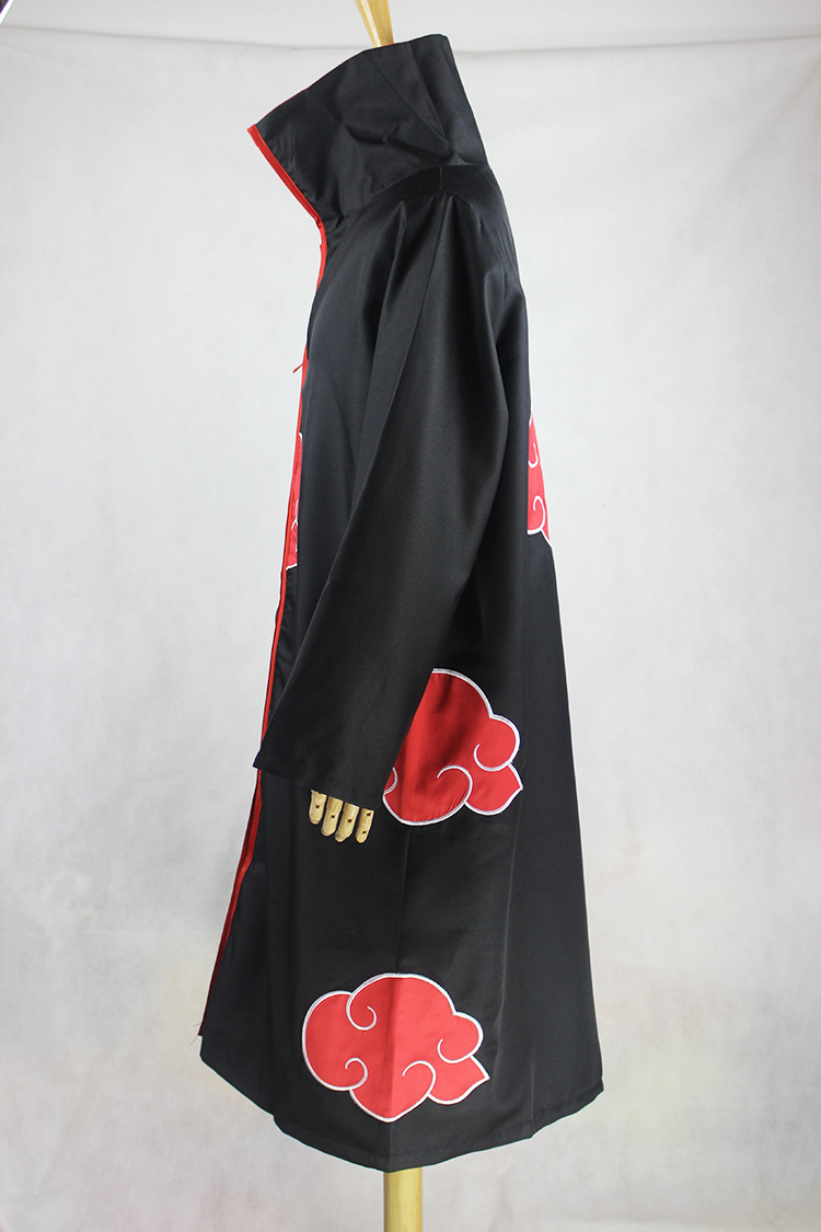 Image 3 - KIGUCOS Large Size Anime Naruto Cosplay Costumes for Men Women Uniform Uchiha Itachi Cloak Akatsuki Cosplay Halloween Outfit-in Anime Costumes from Novelty & Special Use