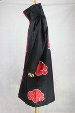 Anime Superhero Costumes plus size Cosplay Costumes unisex Uchiha Itachi Akatsuki Cloak