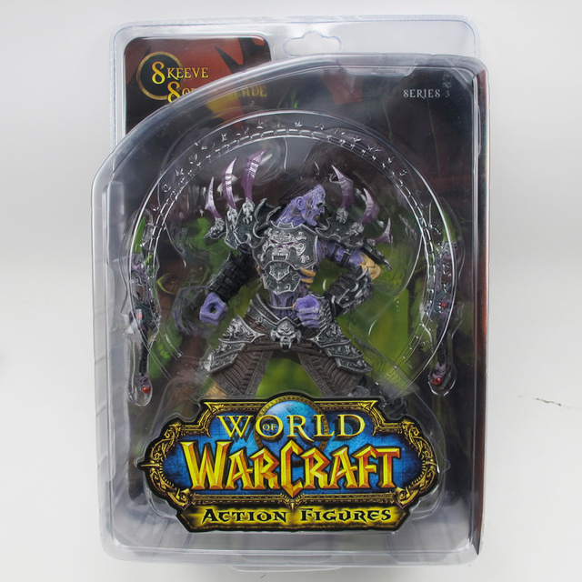WOW WORLD DC3 UNDEAD ROGUE SKEEVE SORROWBLADE ACTION FIGURE TOY GIFT Anime Figure Collectible Model Toy 4