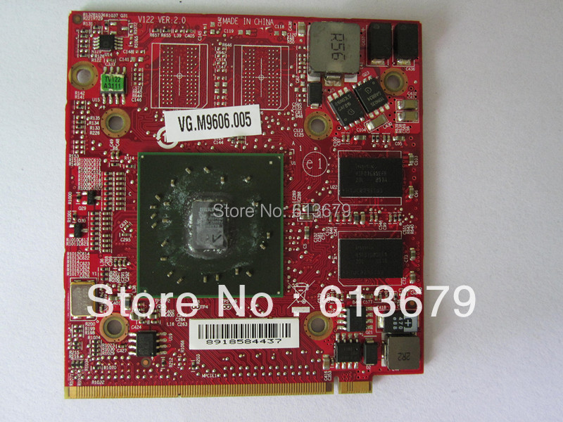 Wholesales HD3470 video card 216-0707009 Graphics Cards <font><b>DDR2</b></font> 256GB MXM II VG.M9606.005 Video VGA Card for acer image