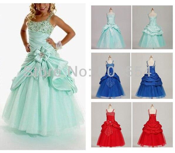 Online Get Cheap Flower Girl Dresses Blue -Aliexpress.com ...