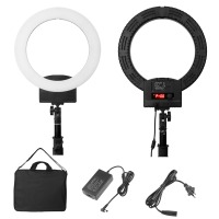 EU Dimmable 240PCS LED Ring Light 36W 5500K LED Photography Adjustable Ring Lamp Fill Light for Camera Photo Studio Phone Video