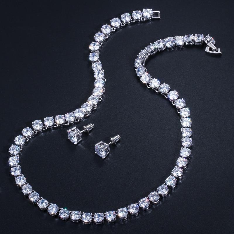 Pera sjajna 0,5 karatna velika okrugla američka kubna cirkonija - Modni nakit - Foto 3