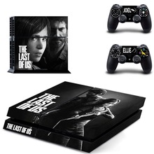 The Last of US PS4 Skin Sticker Decal Vinyl for Playstation 4 Console and 2 Controllers PS4 Sticker
