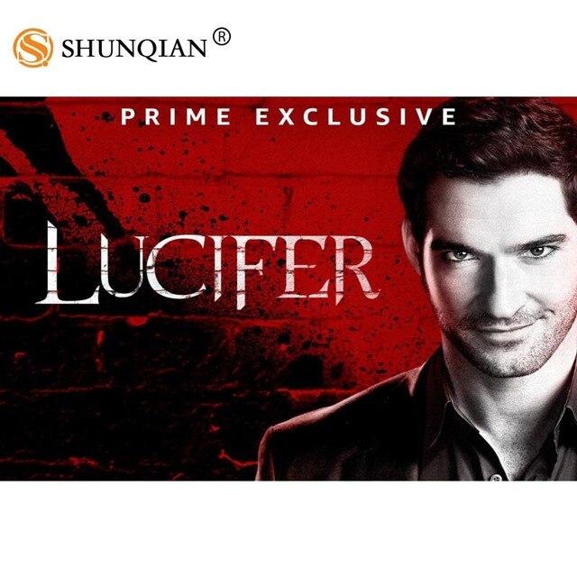 New Arrival Lucifer Season 3 Poster Cartoon Silk Poster