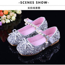 Großhandel girls silver dress shoes Gallery Billig kaufen