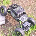 RC Car XQD01 2.4G 4CH 4WD Rock Crawler 4x4 Rastreadores de Conducción de Coches de Doble Motores de Accionamiento Bigfoot RC Modelo de Coche Off-Road de Vehículos de Juguete