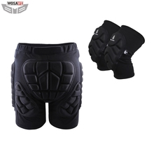 WOSAWE Motorcycles Protective Gear Hip Pad Knee Pads Ski Skateboard Snowboard Protection Roller Padded Shorts