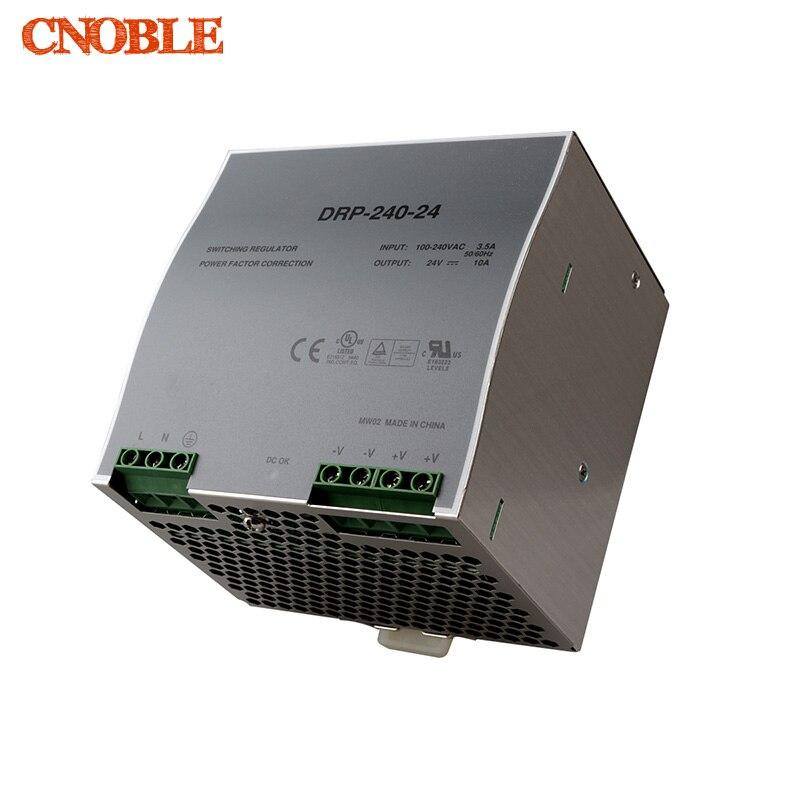 все цены на Din rail power supply 240w 24V power suply 24v 240w ac dc converter dr-240-24 good quality онлайн