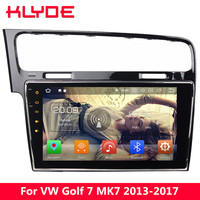 KLYDE 10.1 IPS 4G Android 8 Octa Core 4GB RAM 32GB ROM Car DVD Multimedia Player Stereo For Volkswagen VW Golf 7 MK7 2013 2017