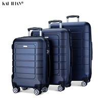20''24/28 inch ABS suitcase on wheels travel Cabin rolling luggage trolly bag Women carry on luggage fashion hardside suitcase