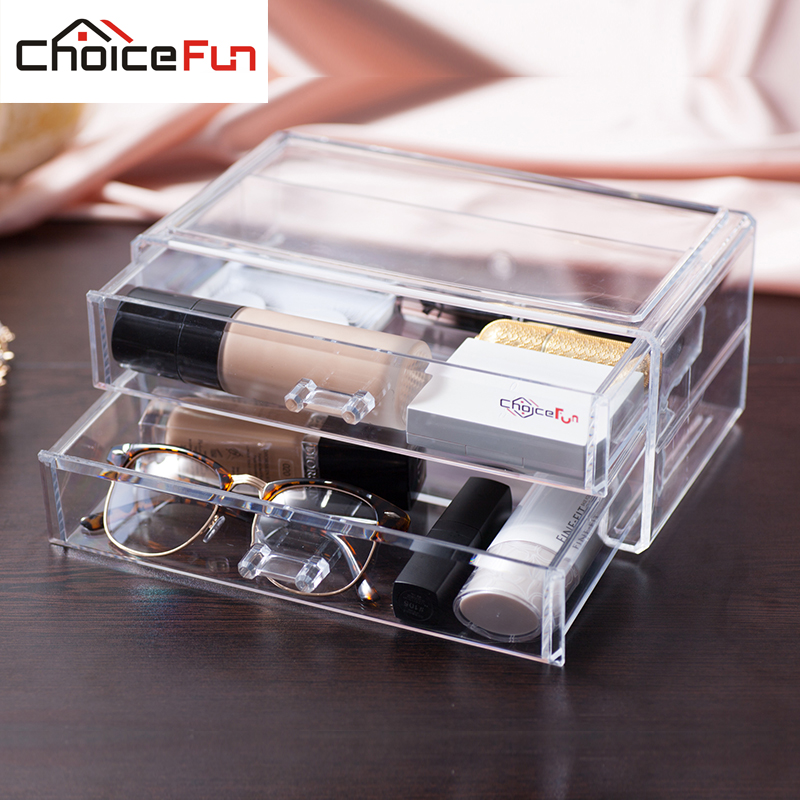 Aliexpresscom Buy CHOICE FUN New Makeup Cosmetic Clear Acrylic
