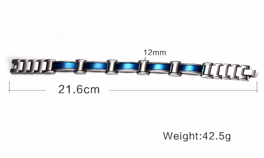 Mens bracelets magnetic Jewelry  113