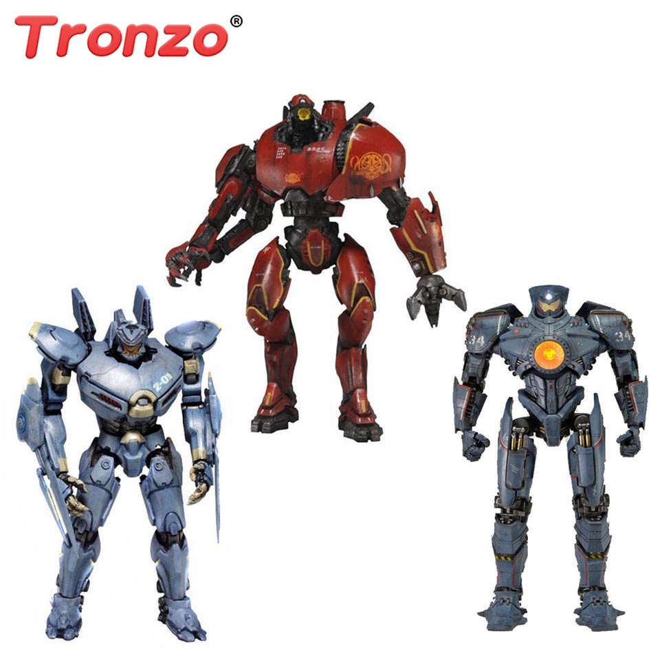 Tronzo 15cm Pacific Rim Action Figures Striker Eureka Crimson Typhoon Gipsy Danger Movable Model Toys Collectible Gift For Boy