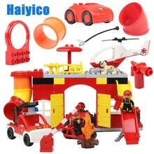 Blocos de construção de tijolos, diy, acessórios de figura, estrutura de combate a incêndio, brinquedo educativo, crianças, presente compatível com duplo modelo