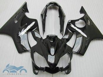 Injection molding motorcycle fairings for HONDA CBR 600 F4i 04 05 06 07 CBR 600F 2004-2007 all glossy black fairing kit SZ46