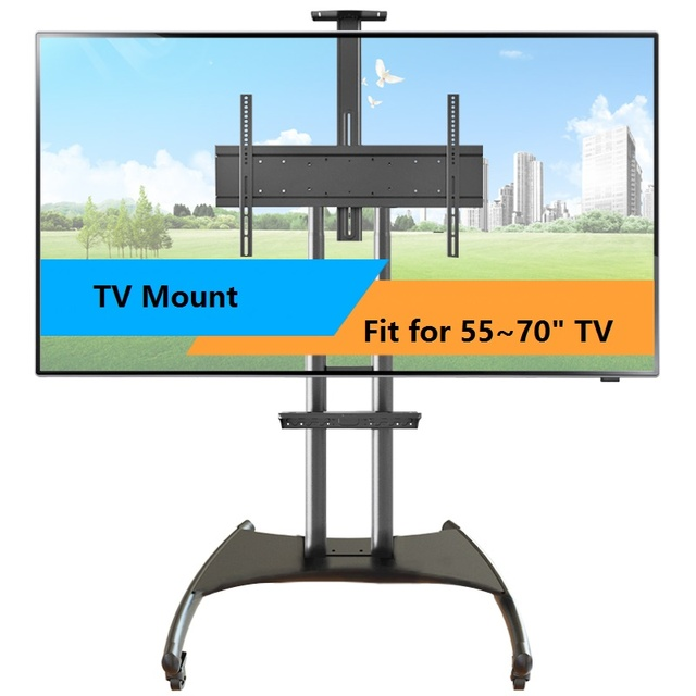 Professional Tv Mount Removable Ground Led Mount Fit For 55 To 70
