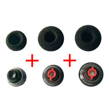3 Set Replacement Durable Silicone Black Earbuds Tips Soft U