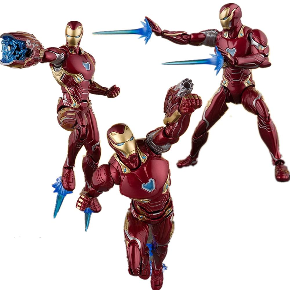 Avengers 4 Endgame Ironman MK50 MK85 PVC Action Figures Thanos Ironman Super hero Toy Anime Movie Avangers 4 Iron Man FigurineAvengers 4 Endgame Ironman MK50 MK85 PVC Action Figures Thanos Ironman Super hero Toy Anime Movie Avangers 4 Iron Man Figurine