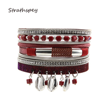 Fashion Designer Wrist Jewelry Short Metal Crystal Beads Spring Bracelet Rhinestone Chains Teeth Pendant Bangles For Women