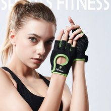 Fashion mesh breathable thin section fitness men's half finger cycling Anti-skidding gloves ladies yoga training sports gloves стоимость