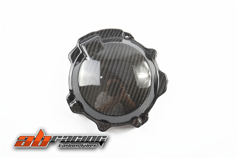 Engine Cover 3 For Kawasaki ZX10R 2016 Full Carbon Fiber 100%  Twill engine cover