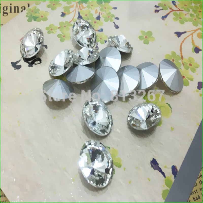 Crystal Clear Color Rivoli Glass Stone Bead 6~~30mm-in Beads from Jewelry    Accessories on Aliexpress.com  9013d134948e