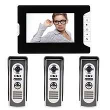 SYSD 7 inch LCD Color Video door phone Intercom System Weatherproof Night Vision Camera Home Security
