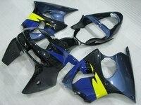Zx6r 1998 1999 Fairing Kits Ninja Zx 6r 98 Black Blue Full Body Kits for Kawasaki Zx6r 1999 Fairing Kits