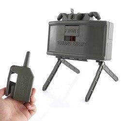 Rowsfire eléctrica de agua de Control remoto granos Clip de agua bala bola bomba al aire libre CS equipo juguete de regalo de los niños-verde