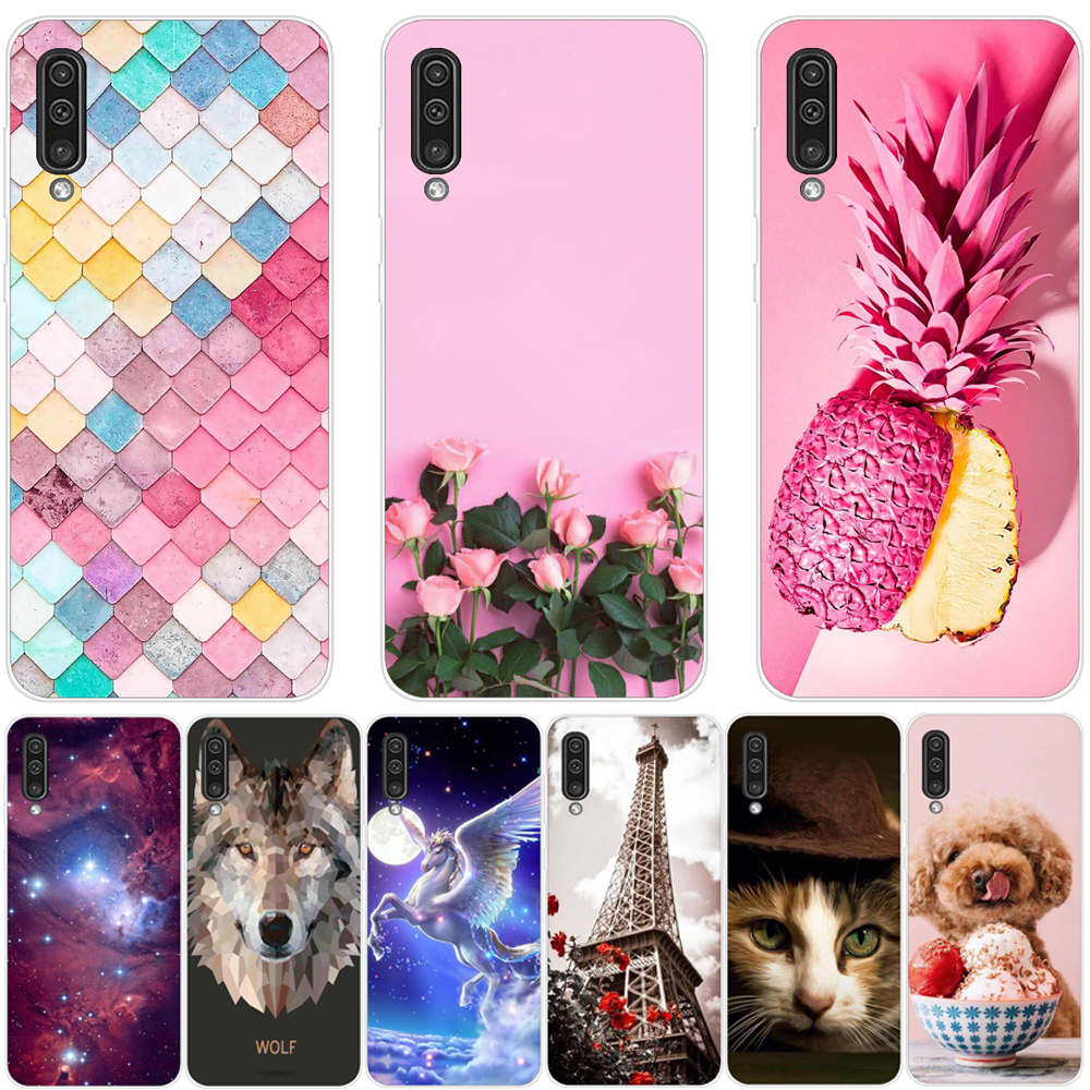 Back Cover for Samsung Galaxy A30 A50 Case Silicone For