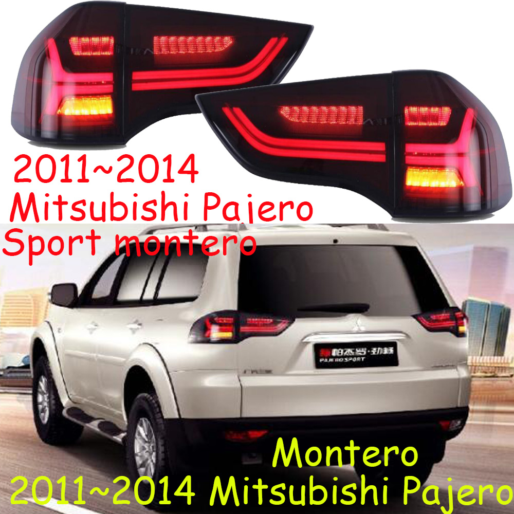 car accessories,Pajero taillight,montero,SUV,2011 2012 2013year,Free ship!pajero rear light,montero,Lancer,Outlander,motorcycle-in Car Light Assembly from Automobiles & Motorcycles    1