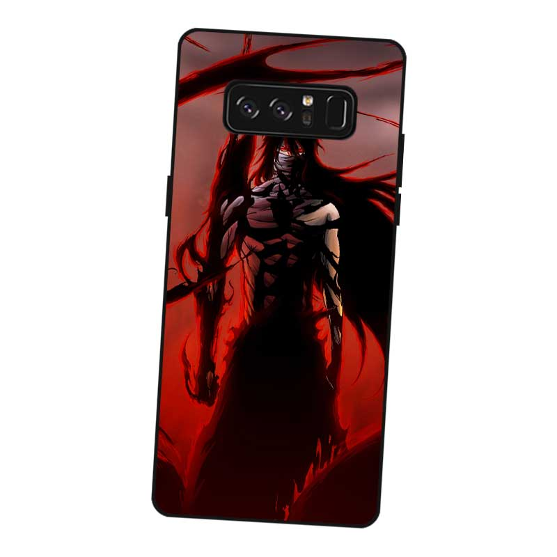 P017 Bleach Black Silicone Case Cover For Samsung Galaxy Note 3 4 5 8 9 M10 M20 M30 in Fitted Cases from Cellphones Telecommunications