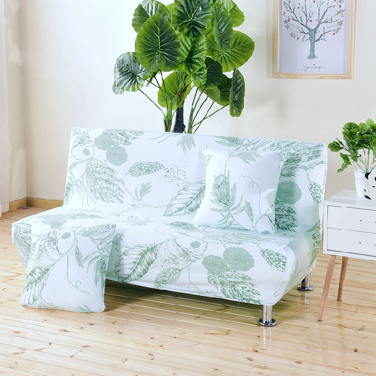 Universal size Armless Sofa Bed Cover Folding seat slipcovers stretch covers cheap Couch Protector Elastic bench Futon Covers 21