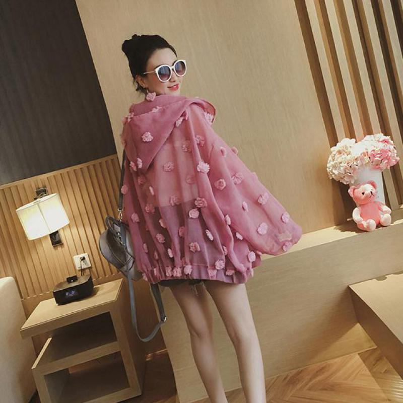 2019 Nuovo Arrivo Di Estate Protezione Solare Abbigliamento Femminile Di Stile Coreano Allentato Eugen Lane E Filati Giacca Sottile Di Estate Di Modo Cappotti Trasporto Libero