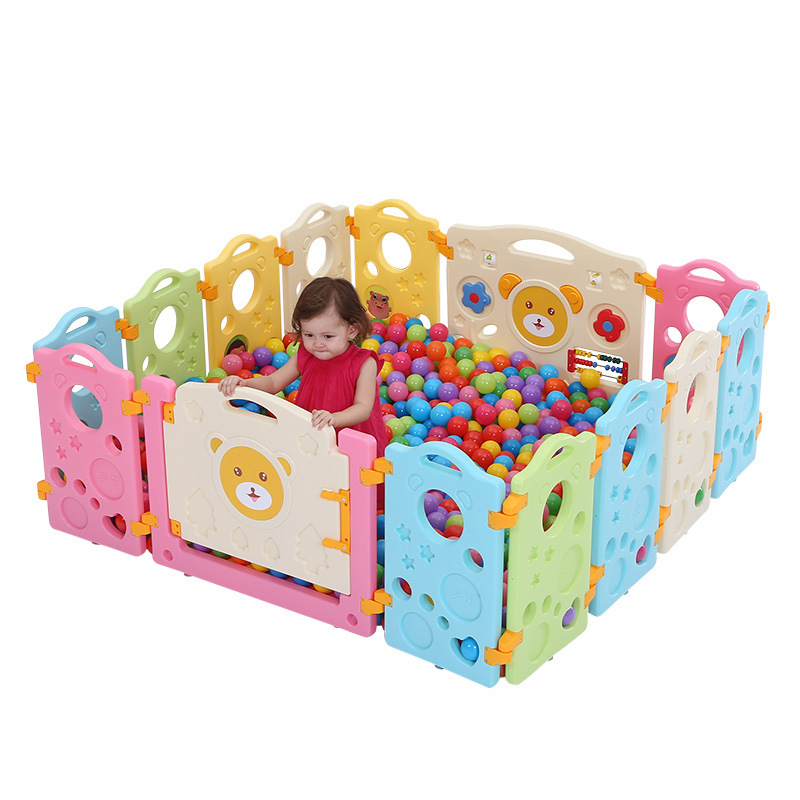 Baby Playpens for Activity Gear Kids Safety Play Yard Indoor Children Place Fence Environmental Protection Outdoor