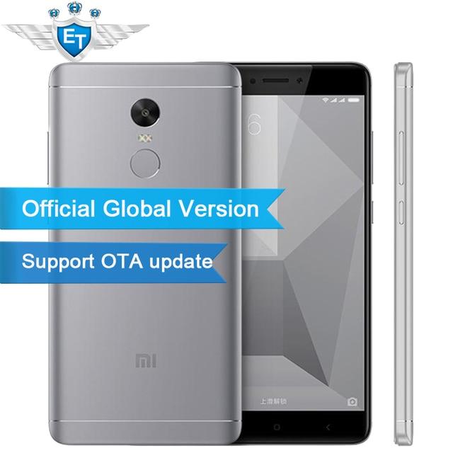 Global Version Xiaomi Redmi Note 4 Qualcomm 3GB 32GB Smartphone Snapdragon 625 Octa Core 13.0MP Camera Fingerprint Support OTA
