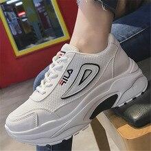 43c4fb859 نوعية جيدة احذية الجري النساء اختلال 2 رياضية النساء توسيد منصة تنفس شبكة أحذية  رياضية المشي