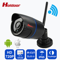 Outdoor Waterproof IP65 Night Vision Mini HD 720P IP Camera Wireless Wifi Bullet Camara IR Cut
