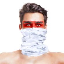 Дизайн Камуфляжный походный шарф бандана мужская женская маска для лица Военная уличная походная велосипедная Рыбалка Спортивная шейный шарф