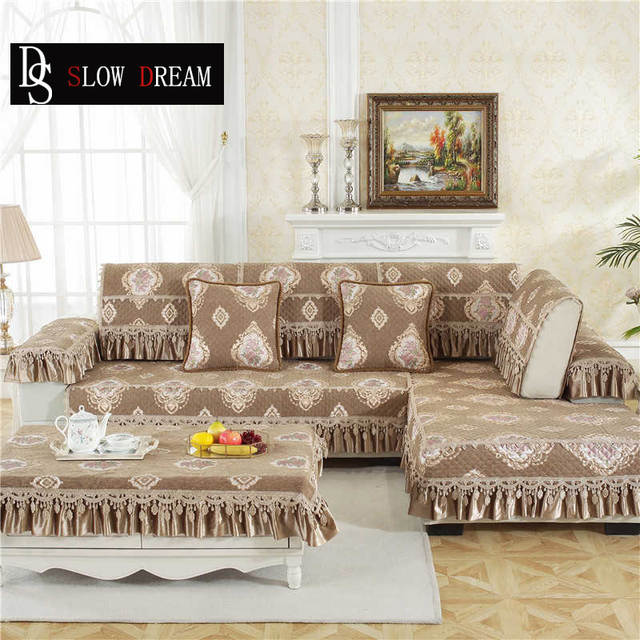 Sofa Cover Couch Luxury Lace