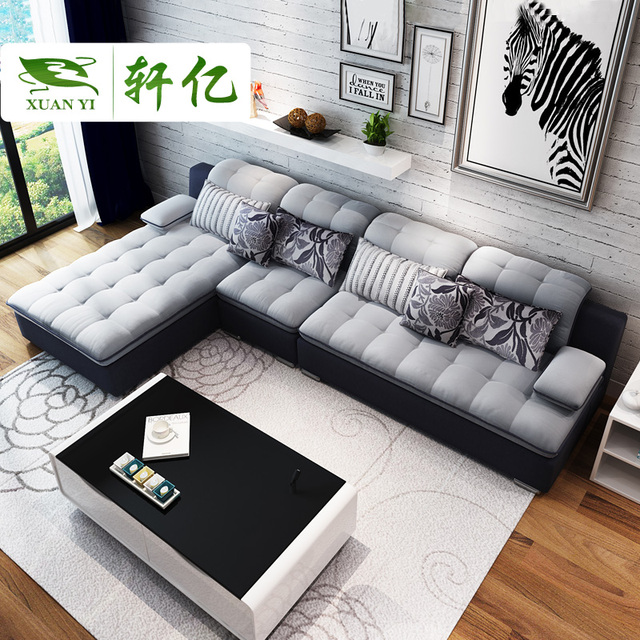 Beautiful Free Shipping Sectional Sofa European Style Two Persons
