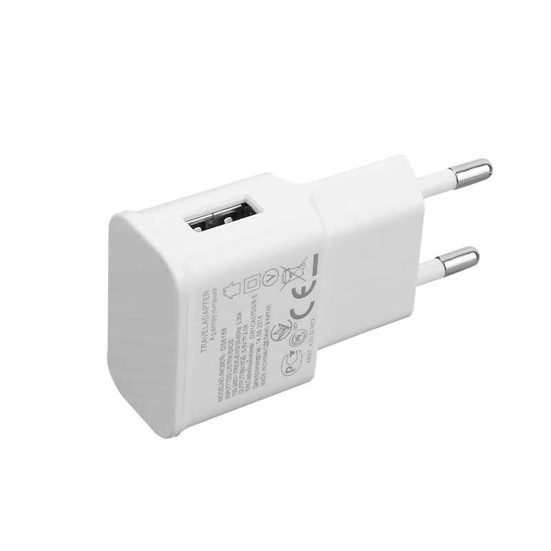 5 V 2.1A USB Charger untuk iPhone X 8 7 6 Ipad Cepat Dinding Charger Uni Eropa Adaptor 5 V 2A untuk Samsung S9 Xiao Mi Mi Mobile Phone Charger